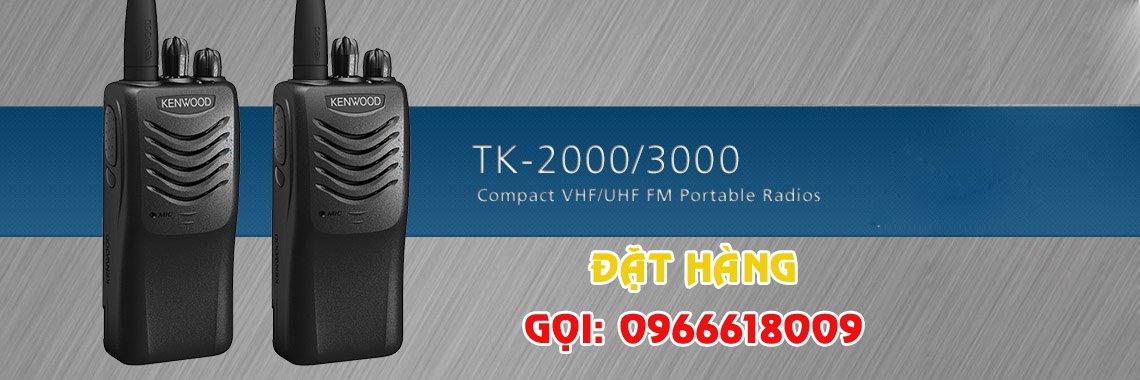 Bộ đàm Kenwood TK2000 - 3000