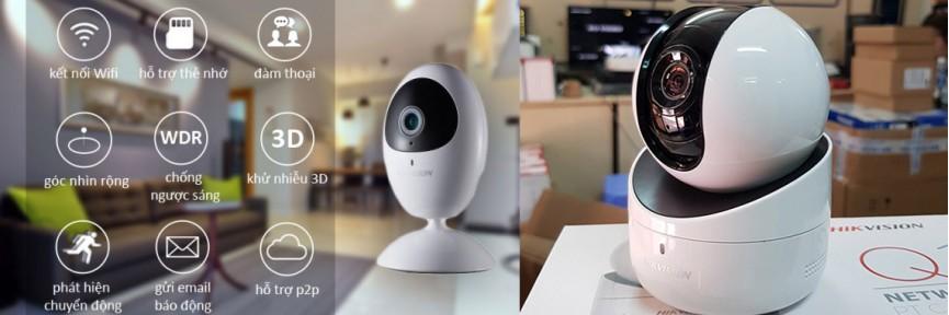 Camera IP WiFi <br> Nhiều tính năng mới