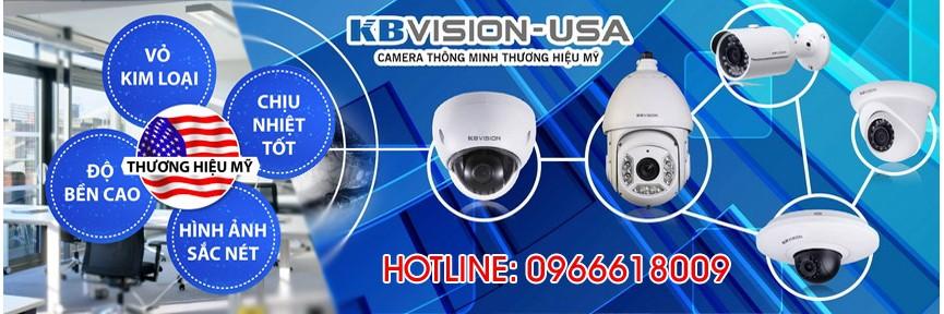 Camera KBVISION <br> Camera thương hiệu Mỹ