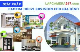 Giải pháp camera KBVISION dành cho gia đình