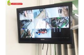 Lắp đặt camera quan sát tại showroom trưng bày sản phẩm