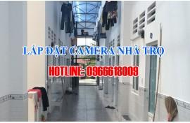 Lắp đặt camera quan sát cho phòng trọ - nhà trọ