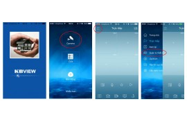 Hướng dẫn sử dụng phần mềm KBView Lite trên điện thoại
