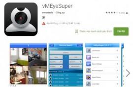Cài phần mềm xem camera quan điện thoại HĐH Android