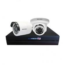 Bộ KIT 2 Camera IP PoE KBVISION 2.0 MP