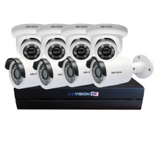 Bộ KIT 8 Camera IP PoE KBVISION 2.0 MP