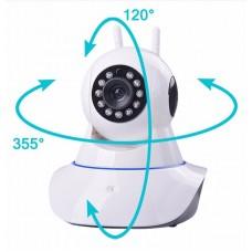 Camera IP WIFI - không dây xoay 355 độ 2 anten