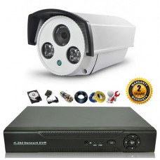 Bộ camera hồng ngoại ngoài trời 2.0 Megapixel