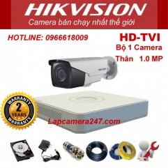Bộ 1 camera thân xưởng HIKVISION 1.0 Megapixel