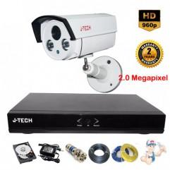 Bộ camera Thân JTech 2.0 Megapixel AHD5600B