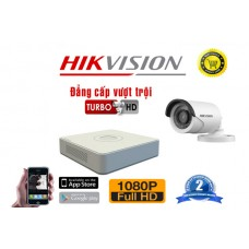 Bộ camera Thân HIKVISION - KIT-HIKT10