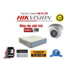 Bộ camera Dome HIKVISION - KIT-HIKD10